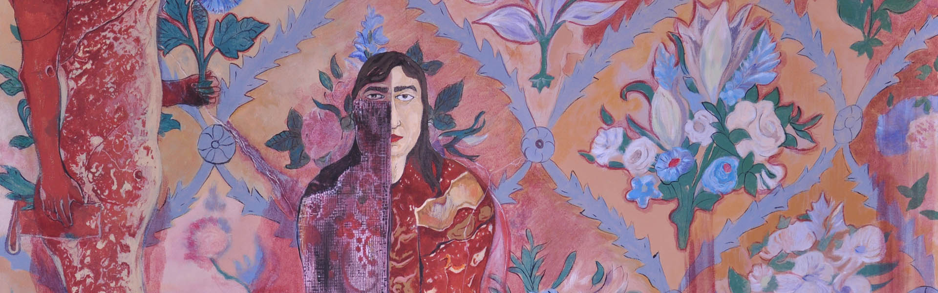 zahra barahimi painting exhibition didar gallery silani paint art زهرا براهیمی نمایشگاه نقاشی دیدار گالری سیلانی هنر