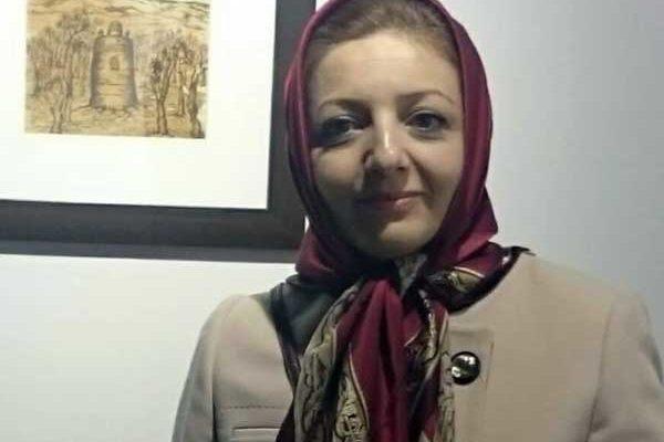 katayoon zahedian painting exhibition art Iranian artist gallery didar esfahan cancer نمایشگاه نقاشی کتایون زاهدیان چنگار سرطان گالری دیدار اصفهان هنر هنرمند ایرانی